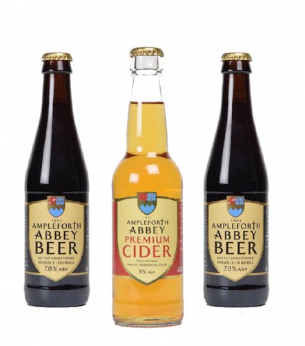 Mixed Case of Ampleforth Beer and Cider